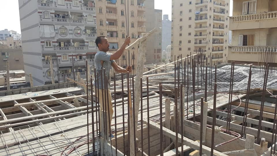 التصدى للبناء المخالف بالاسكندرية (2)