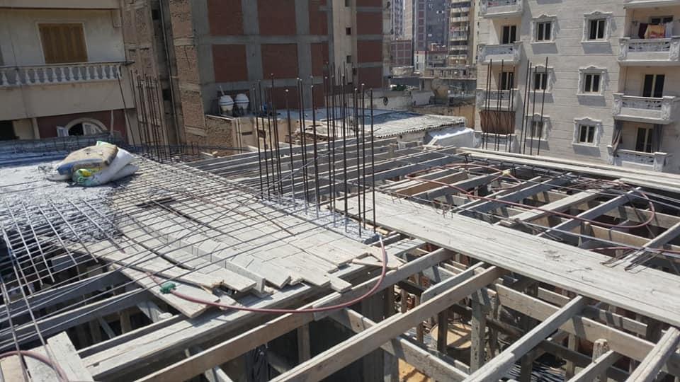 التصدى للبناء المخالف بالاسكندرية (3)