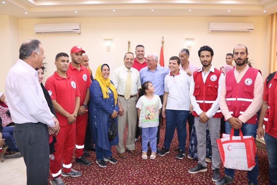 محافظ شمال سيناء يتجول مع ذوى القدرات الخاصة بـالطفطف (3)