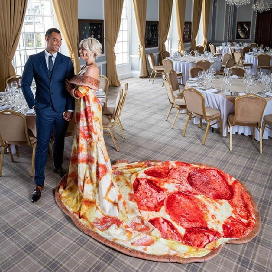 عروسه بطعم البيتزا  (4)