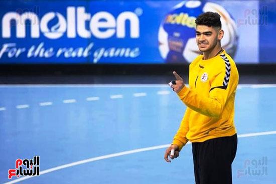 مباراة كرة اليد بين مصر وسلوفانيا (8)