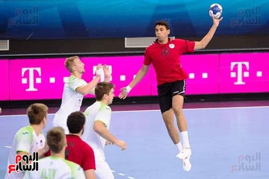 مباراة كرة اليد بين مصر وسلوفانيا (6)