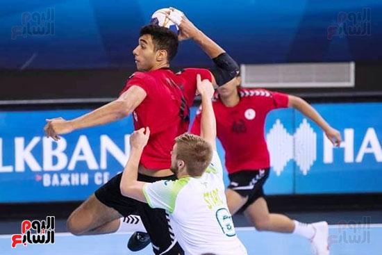 مباراة كرة اليد بين مصر وسلوفانيا (1)