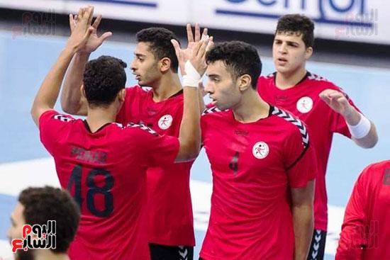 مباراة كرة اليد بين مصر وسلوفانيا (7)