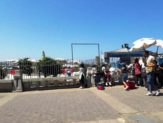 إقبال كبير على شواطئ الإسكندرية فى رابع أيام عيد الأضحى  (4)