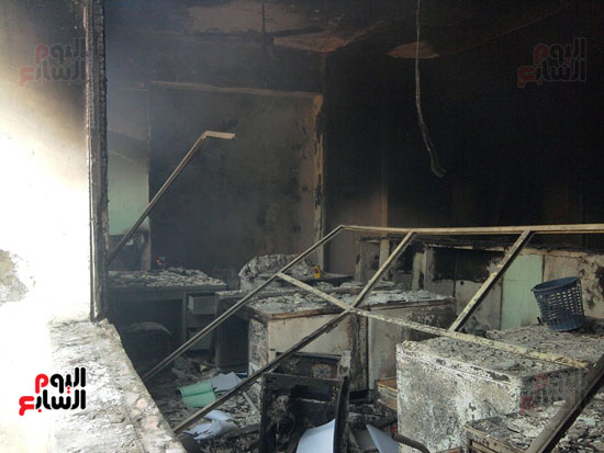حريق محافظة بنى سويف