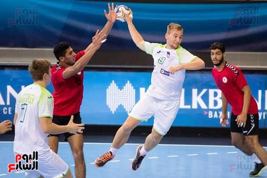 مباراة كرة اليد بين مصر وسلوفانيا (2)