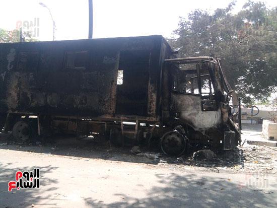 حريق محافظة بنى سويف (2)