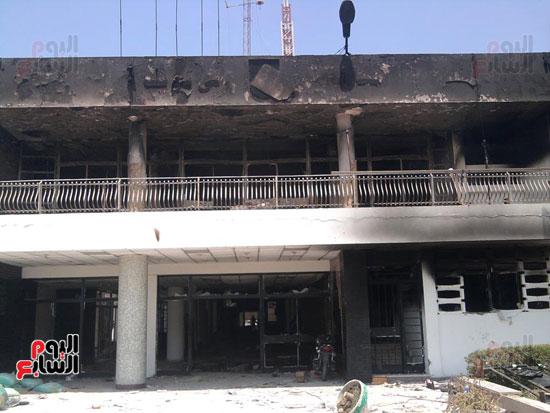 حريق محافظة بنى سويف (5)