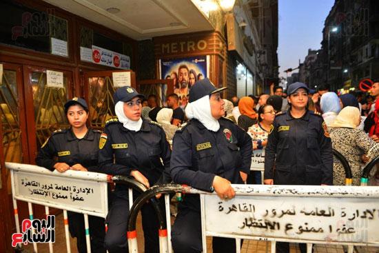 تامين الشرطة النسائية للسينمات (1)