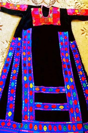 أثواب بدويات سيناء (6)