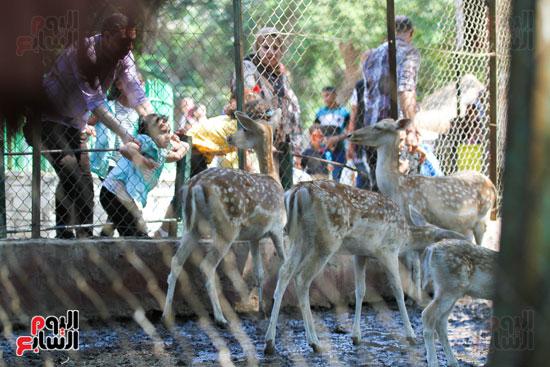 حديقة الحيوانات تستقبل زوارها