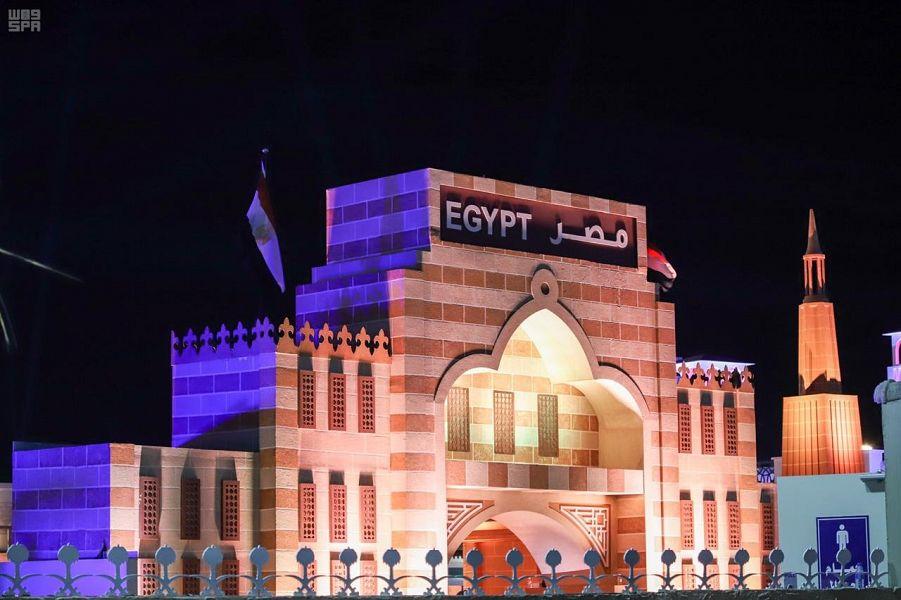 التراث المصرى بسوق عكاظ  (1)