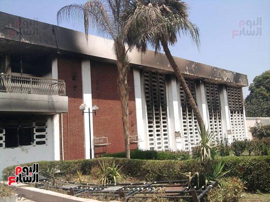 حريق محافظة بنى سويف (4)