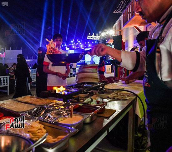 الأكل المصرى فى سوق عكاظ