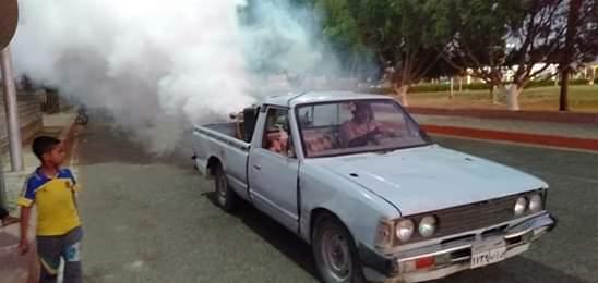 حملة لمكافحة الناموس والذباب من الشوارع والميادين العامة (3)