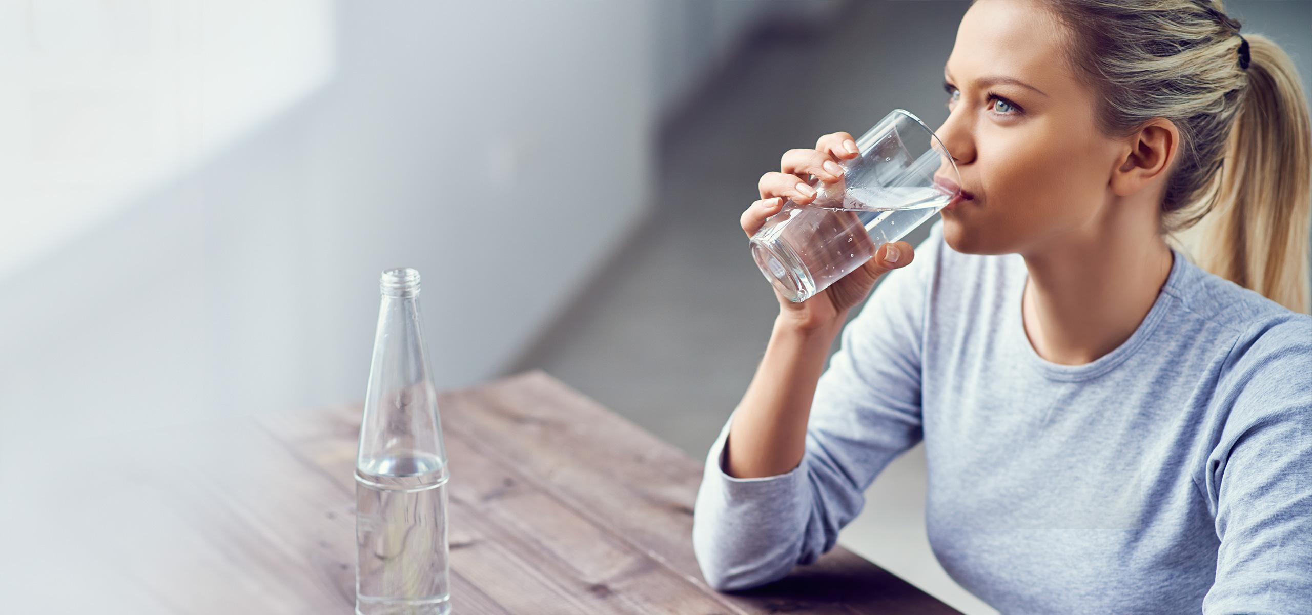 شرب المياه