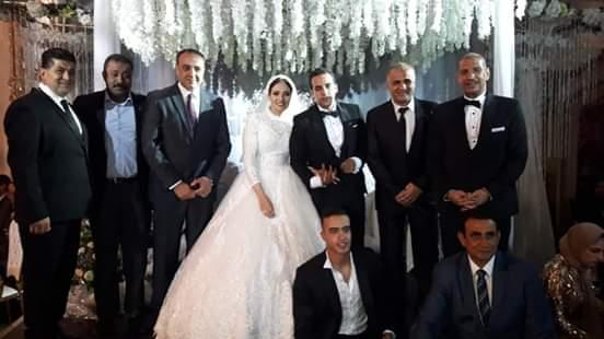 الخطيب فى حفل الزفاف (1)
