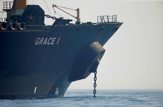 ناقلة النفط الإيرانية جريس 1 (1)