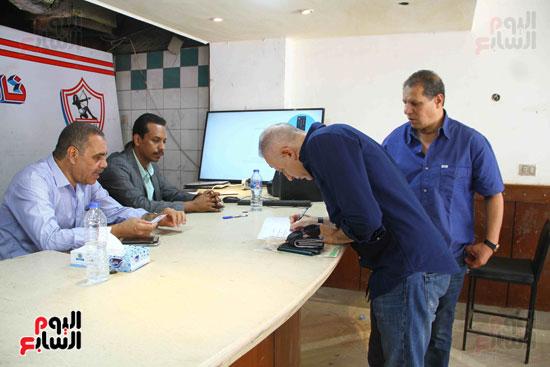 الزمالك يفتح باب الترشح بانتخاباته وأحمد عادل أول المتقدمين (5)