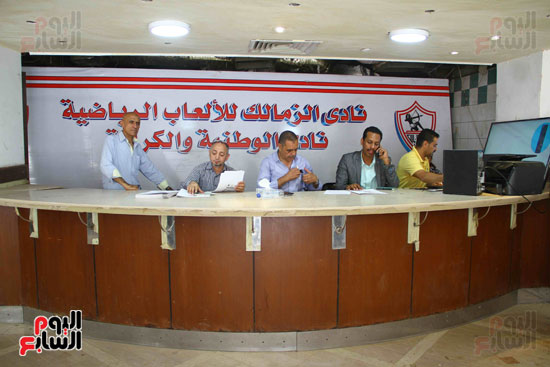 أحمد مرتضى يقدم أوراق ترشحه فى انتخابات الزمالك (8)