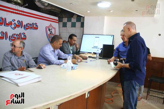 الزمالك يفتح باب الترشح بانتخاباته وأحمد عادل أول المتقدمين (2)