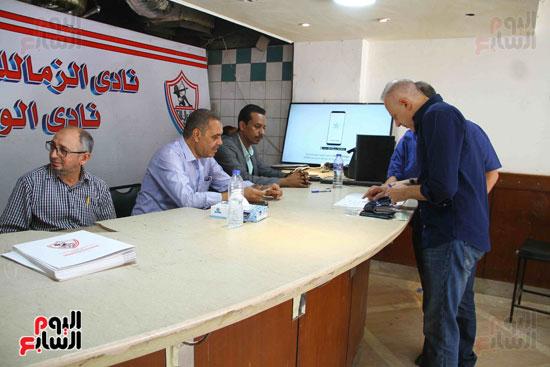 الزمالك يفتح باب الترشح بانتخاباته وأحمد عادل أول المتقدمين (4)
