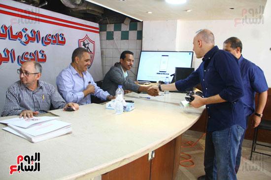 الزمالك يفتح باب الترشح بانتخاباته وأحمد عادل أول المتقدمين (1)