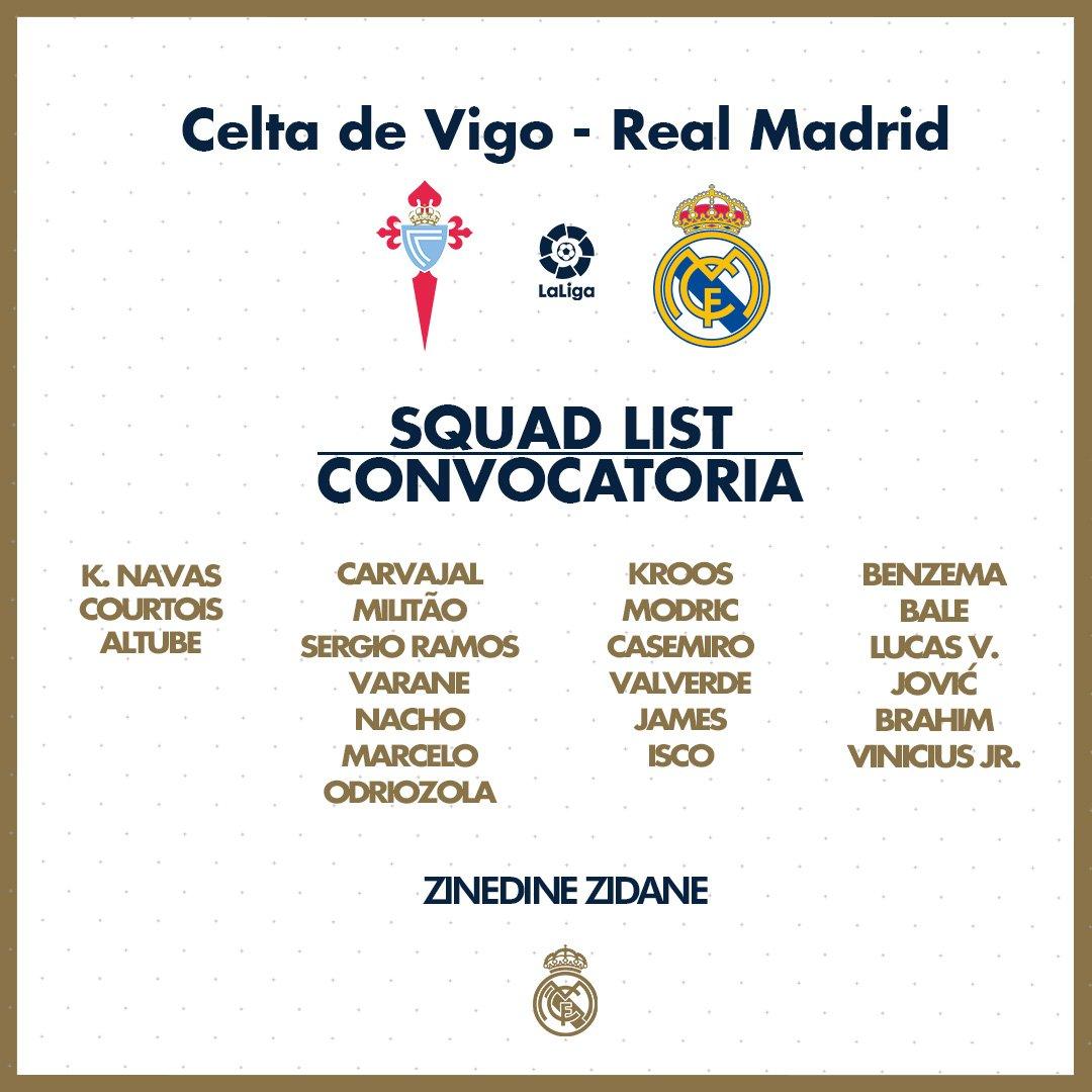 قائمة ريال مدريد