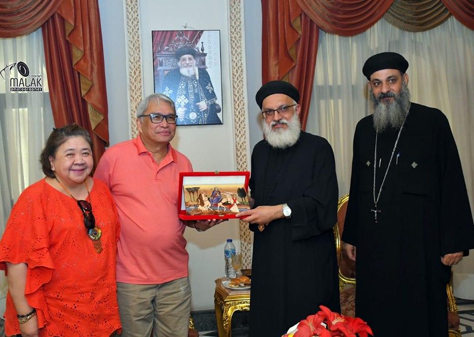 سفير الفلبين يزور التدرائية المرقسية (2)