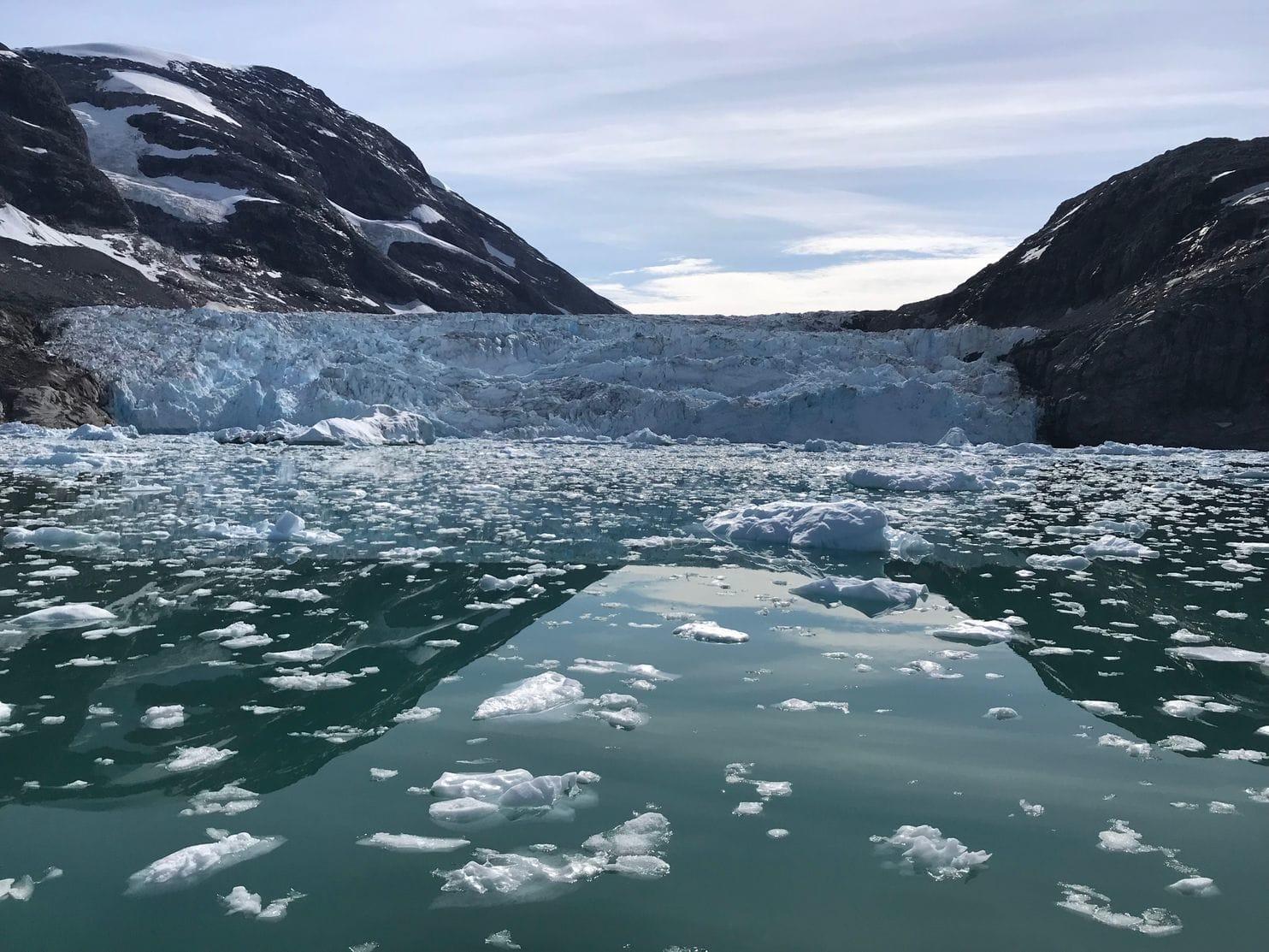ذوبان الثلج فى جرينلاند