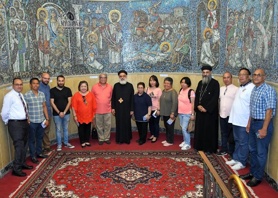 سفير الفلبين يزور التدرائية المرقسية (5)
