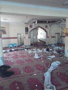 تفجير مسجد باكستان