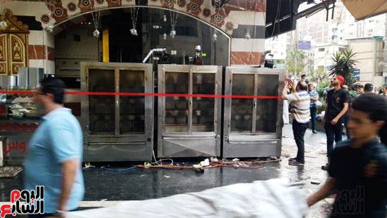 غلق مطعم السورى شرق الاسكندرية و تشميعه بالشمع الأحمر (7)