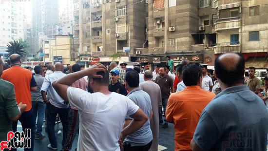 غلق مطعم السورى شرق الاسكندرية و تشميعه بالشمع الأحمر (12)