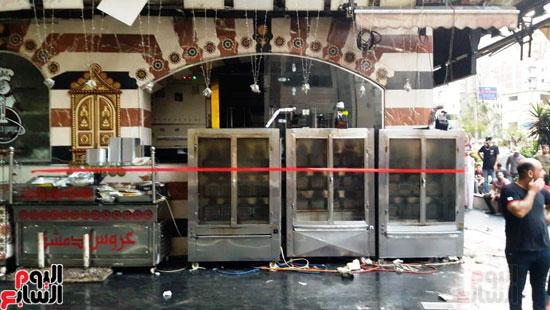 غلق مطعم السورى شرق الاسكندرية و تشميعه بالشمع الأحمر (5)