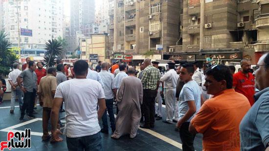 غلق مطعم السورى شرق الاسكندرية و تشميعه بالشمع الأحمر (10)