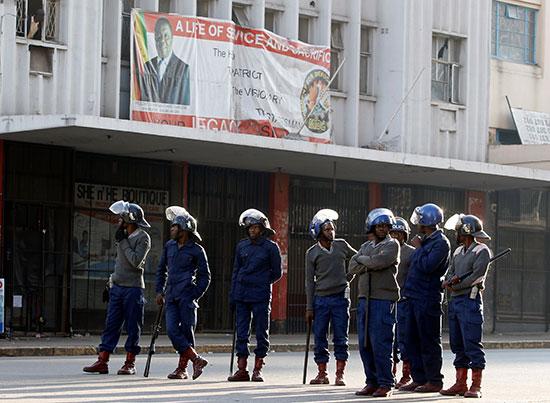 شرطة زيمبابوى