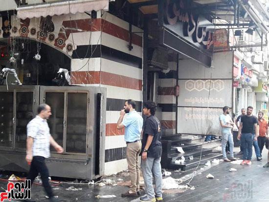 غلق مطعم السورى شرق الاسكندرية و تشميعه بالشمع الأحمر (9)