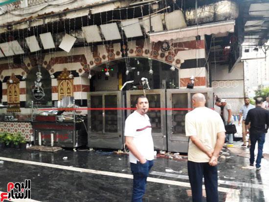 غلق مطعم السورى شرق الاسكندرية و تشميعه بالشمع الأحمر (4)