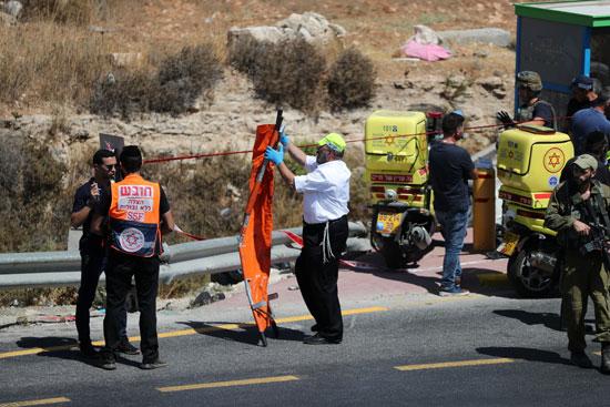 انتشار قوات الشرطة الاسرائيلية