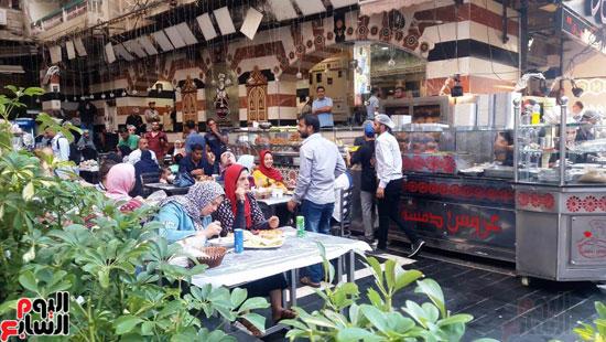 غلق مطعم السورى شرق الاسكندرية و تشميعه بالشمع الأحمر (11)