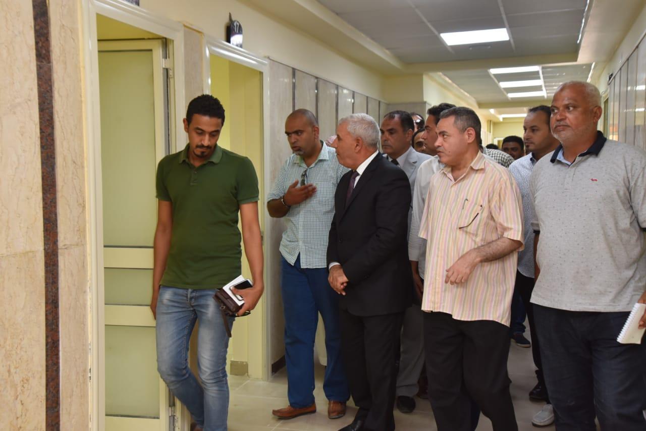 تطوير العيادات الخارجية بمستشفى الحمام المركزي (4)
