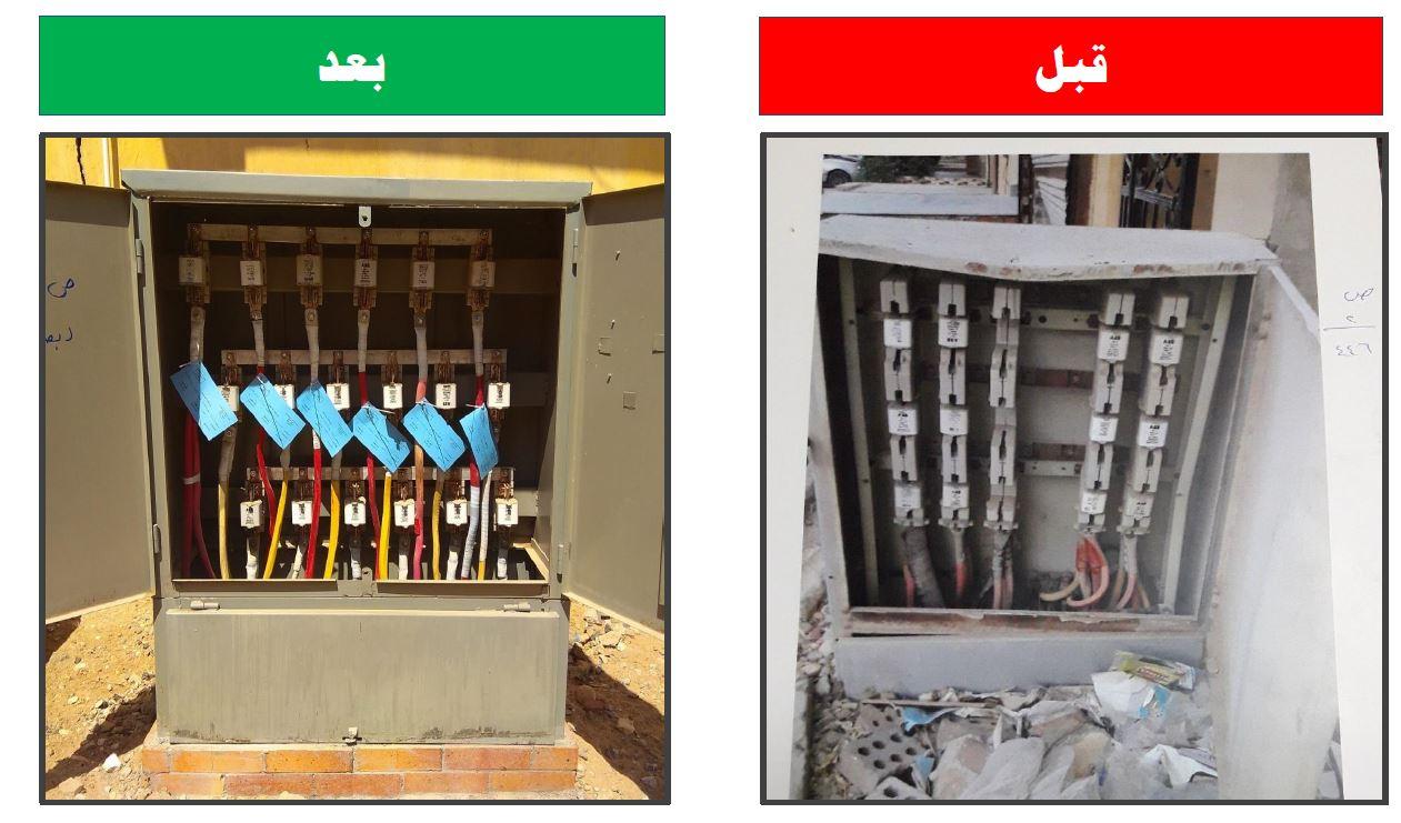تجديد صناديق توزيع الكهرباء 2