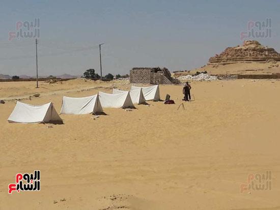 خيم حمامات الرمال