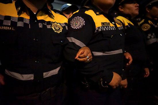 Mexican policewomen