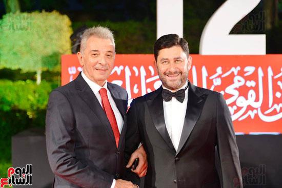 افتتاح  المهرجان القومي للمسرح بدار الاوبرا (14)