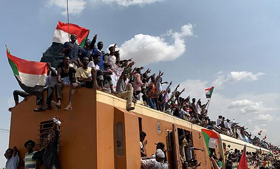 فرحة السودانيين