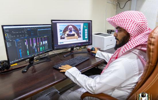 البث المباشر لدروس ومحاضرات المسجد الحرام للطلاب حول العالم (3)