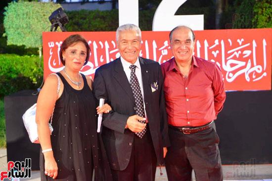 افتتاح  المهرجان القومي للمسرح بدار الاوبرا (16)